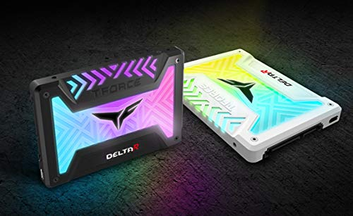 "Team Group T-FORCE DELTA 2.5"" 500GB SATA III Internal RGB Solid State Drive (SSD) - Black |"
