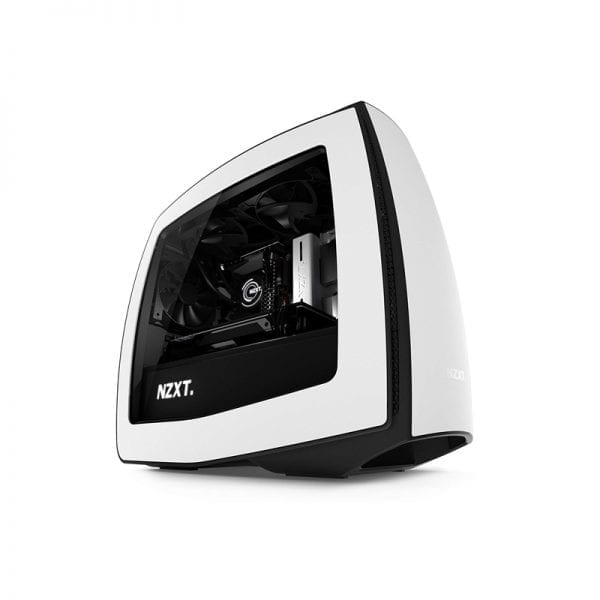 NZXT Manta Computer Case, White/Black - MINI ATX