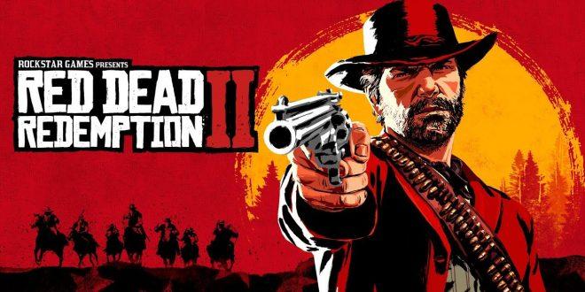Red Dead Redemption II أعلى قائمة الألعاب الأكثر مبيعاً في