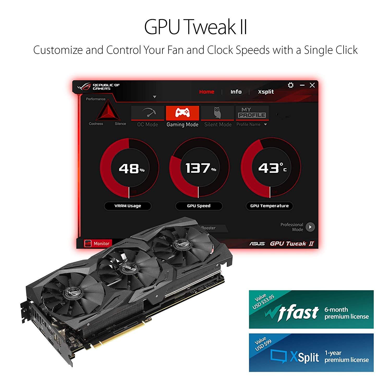 GPU Tweak II makes monitoring performance and streaming easier